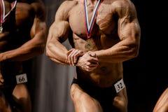 bodybuilders d'athlètes images libres de droits
