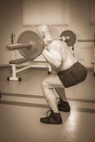 Bodybuilders at the gym Royalty Free Stock Images