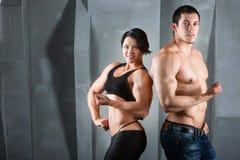 Bodybuilders. Stock Images