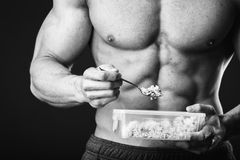 Bodybuilders Stock Image