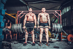 Bodybuilders Royalty Free Stock Photos