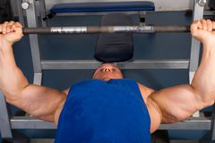 Bodybuilders training Royalty Free Stock Photos