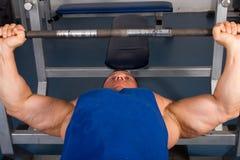 Bodybuilders training Royalty Free Stock Photos