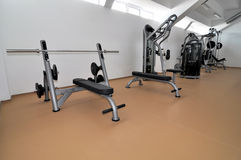 bodybuilding κέντρο Στοκ Φωτογραφία