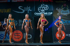 Bodybuilding Champions Cup Royalty Free Stock Images