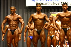 Bodybuilding championship Royalty Free Stock Photo