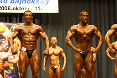 Bodybuilding championship Stock Image