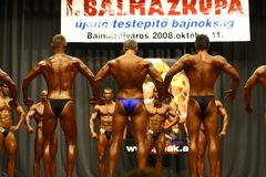 Bodybuilding championship Stock Images