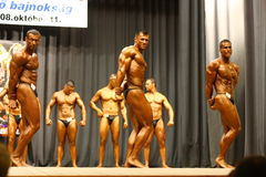 Bodybuilding championship Stock Photography