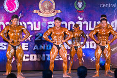 Bodybuilding championship Muscle Stock Photos
