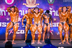 Bodybuilding championship Muscle Royalty Free Stock Photography