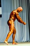 Bodybuilding competitions among men Stock Photography