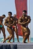 bodybuilding dykdubai för mästerskap 4 sky Arkivbilder