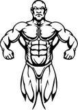 Bodybuilding et Powerlifting - vecteur. illustration libre de droits