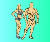 Bodybuilding fitness Royalty Free Stock Image
