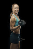 Bodybuilding lady Stock Photos
