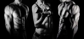 bodybuilding Mężczyzna i kobieta obraz stock
