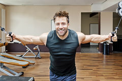 Bodybuilding man Stock Photography