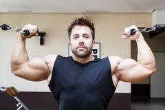 Bodybuilding man Stock Image
