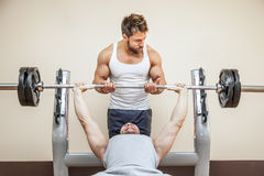 Bodybuilding man Royalty Free Stock Photography