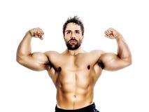 Bodybuilding man Royalty Free Stock Photos