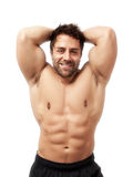 Bodybuilding man Stock Images