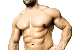 Bodybuilding man Stock Photos