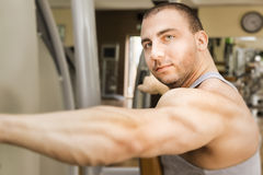 Bodybuilding man Stock Image