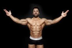 Bodybuilding man Royalty Free Stock Photography