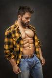 Bodybuilding man Royalty Free Stock Image