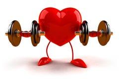 bodybuilding serce Fotografia Royalty Free