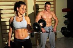 Bodybuilding szkolenie fotografia royalty free