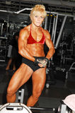 Bodybuilding woman. Stock Images