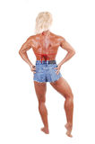 Bodybuilding woman. Stock Photos