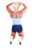 Bodybuilding woman. Stock Photography
