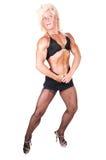 Bodybuilding woman. Stock Photos