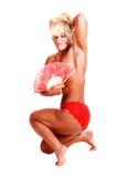 Bodybuilding woman. Stock Image