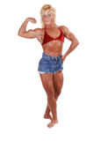 Bodybuilding woman. Stock Photography
