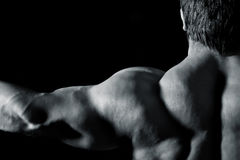 Bodybuildingmann Stockbild