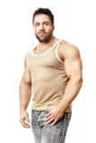 Bodybuildingmann Stockfotografie