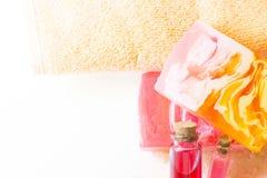 Bodycare и детали skincare Стоковая Фотография RF