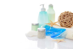 Bodycare accessories Stock Photography