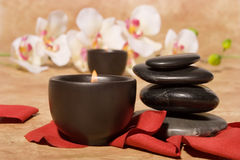 Bodycare massage items Royalty Free Stock Photo