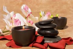 Bodycare massage items Royalty Free Stock Photography