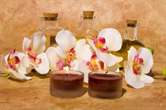 Bodycare massage items Royalty Free Stock Images