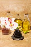 Bodycare massage items Stock Image