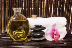 Bodycare massage items Stock Photography