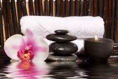 Bodycare Massagefelder Stockfotos