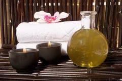 Bodycare Massagefelder stockbilder