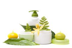 Bodycare products Royalty Free Stock Image
